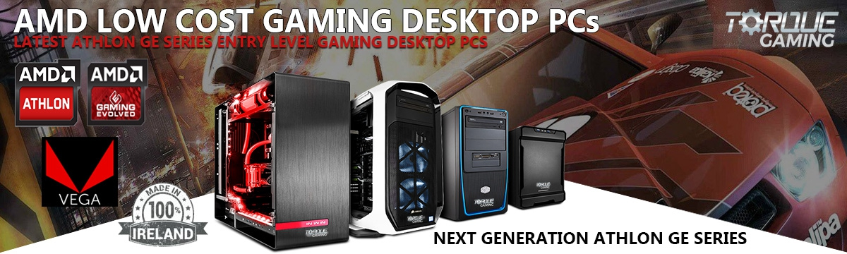 AMD Athlon X2 Gaming PCs