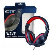 CiT Wave Stereo Wired Headphone and Mic