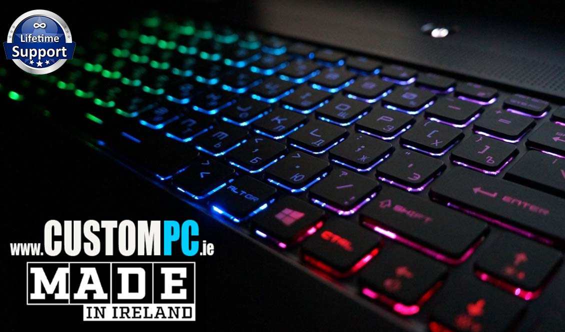 Custom Gaming Desktop PCs - Made in Ireland - www.CUSTOMPC.ie